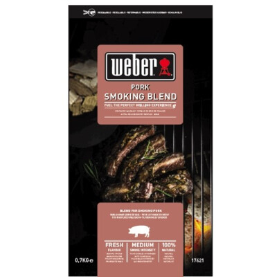 Weber Houtsnipper mix Pork