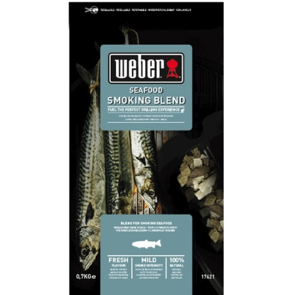 Weber Houtsnipper mix Seafood