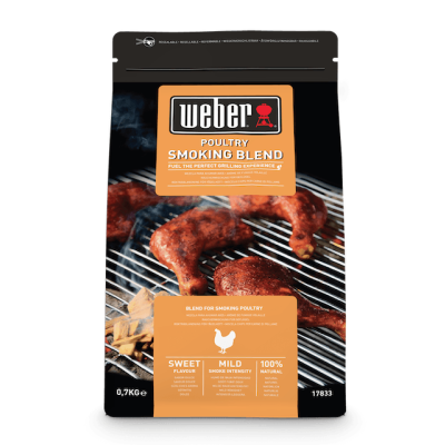 Weber houtsnippers Poultry